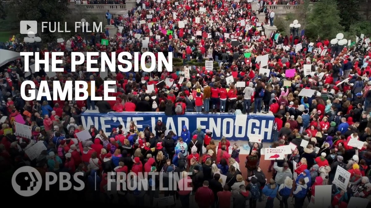 The Pension Gamble (full documentary) |FRONTLINE